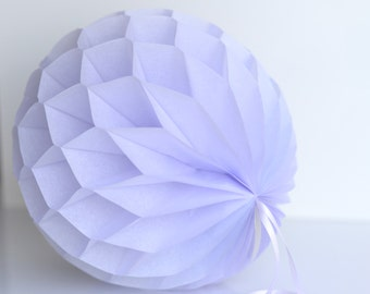 Mist Tissue paper honeycombs -  hanging wedding party decorations