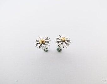 Little daisy's spring – single petal, sterling silver earrings - Cpercent, Wedding, Taiwan,plork,petals earrings,flower,girlfriend