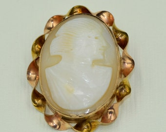 Cameo Brooch and Pendant