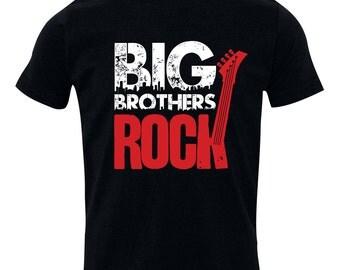 Big Brother Shirt, Big Brothers Rock, BIG Brother T-Shirt, Sibling Shirts, sizes from 1 to 20 RCKSib