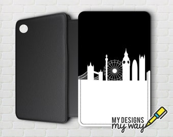 London City Skyline Pictaleather Kindle Case - Kindle Paperwhite And Kindle Touch
