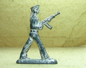 Vintage Lead Toy - Lead Soldier - Soviet Toy - War Game  - Collectors Toy - Sailor - f44