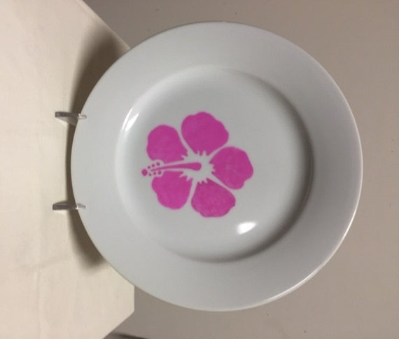 Hibiscus plate sets