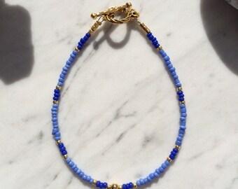 Bracelet, seed beads