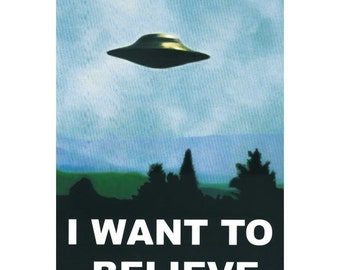 2014 Hot Sale I want to believe Poster