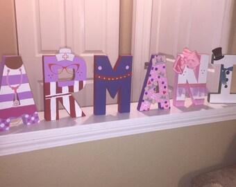 Doc McStuffins Personalized Letters!
