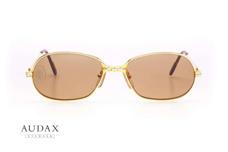 vintage cartier panthere p m sunglasses n