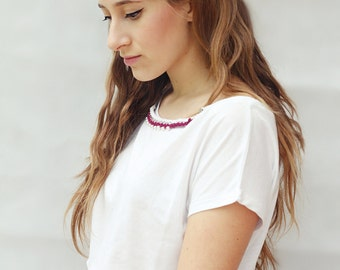 Chain T-shirt, Necklace T-shirt