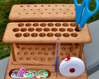 "The ""Elite"" Crochet Hook Organizer Workstation"