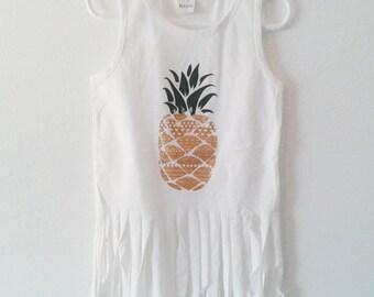 Pineapple Fringe Tank