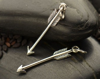 Sterling Silver Arrow Charm