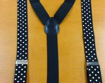 Polka Dot Suspenders