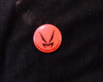 Red Vampire Freaks Pin