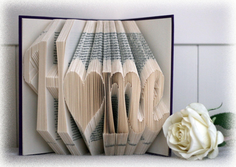 Book Folding Pattern Home Free Tutorial