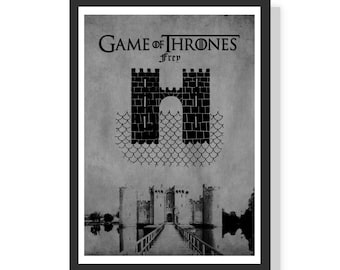 House of Frey - Game of Thrones - Premium A2 LARGE Poster Print