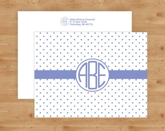 Monogram Notecards, Personalized Stationery, Personalized Stationary, Custom Stationery, Custom Stationary, Notecards