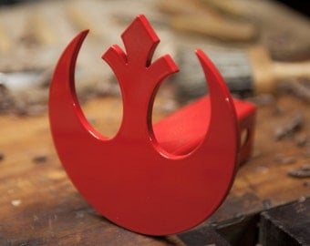 Star Wars Rebel Trailer Hitch Cover.