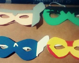 Avengers Masks - Foam Avengers Masks