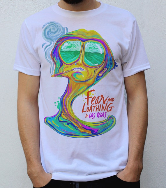 Fear and loathing in las vegas t shirt design by cezardesigns for T shirt design las vegas