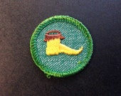 Vintage 1950s Girl Scout Merit Badge for Drama, New