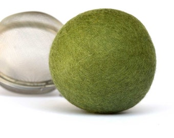 Jasmine Tea Stress Ball - merino wool filled with jasmine tea. Sweet Serenity