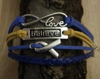 Down Syndrome Awareness Bracelet