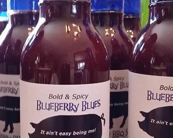 Blueberry Blues BBQ Sauce 3 Bottle Set