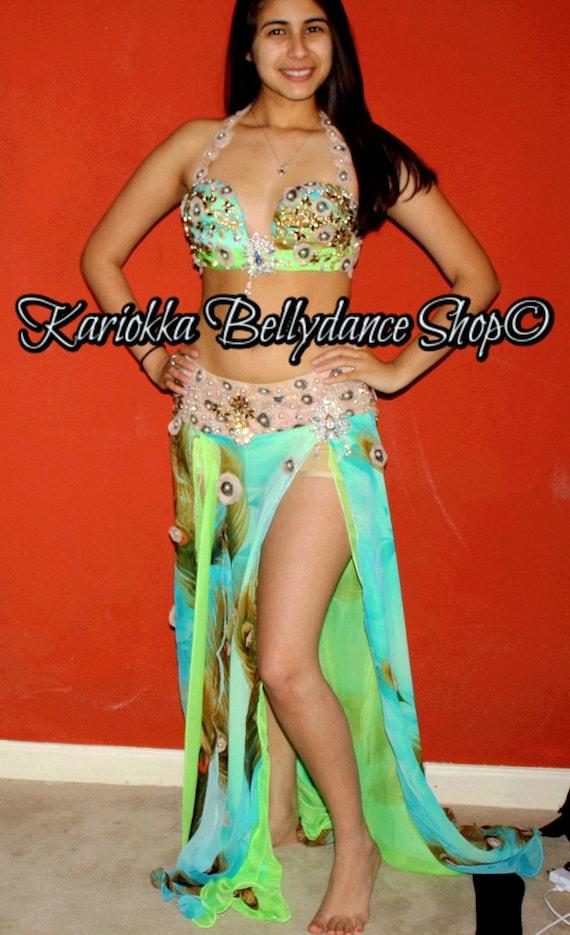 bellydance costume/Egyptian belly dance by KariokkaShop on ...