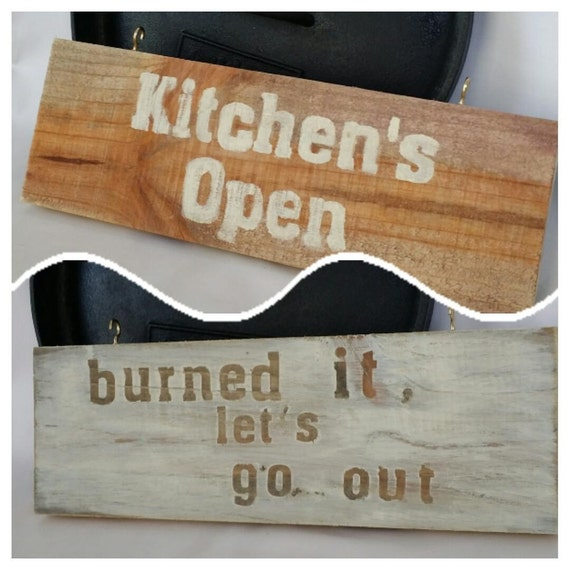 Items Similar To Reclaimed Wood Sign Two Sided Pallet Sign