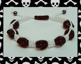 Skulls Shamballa Bracelet