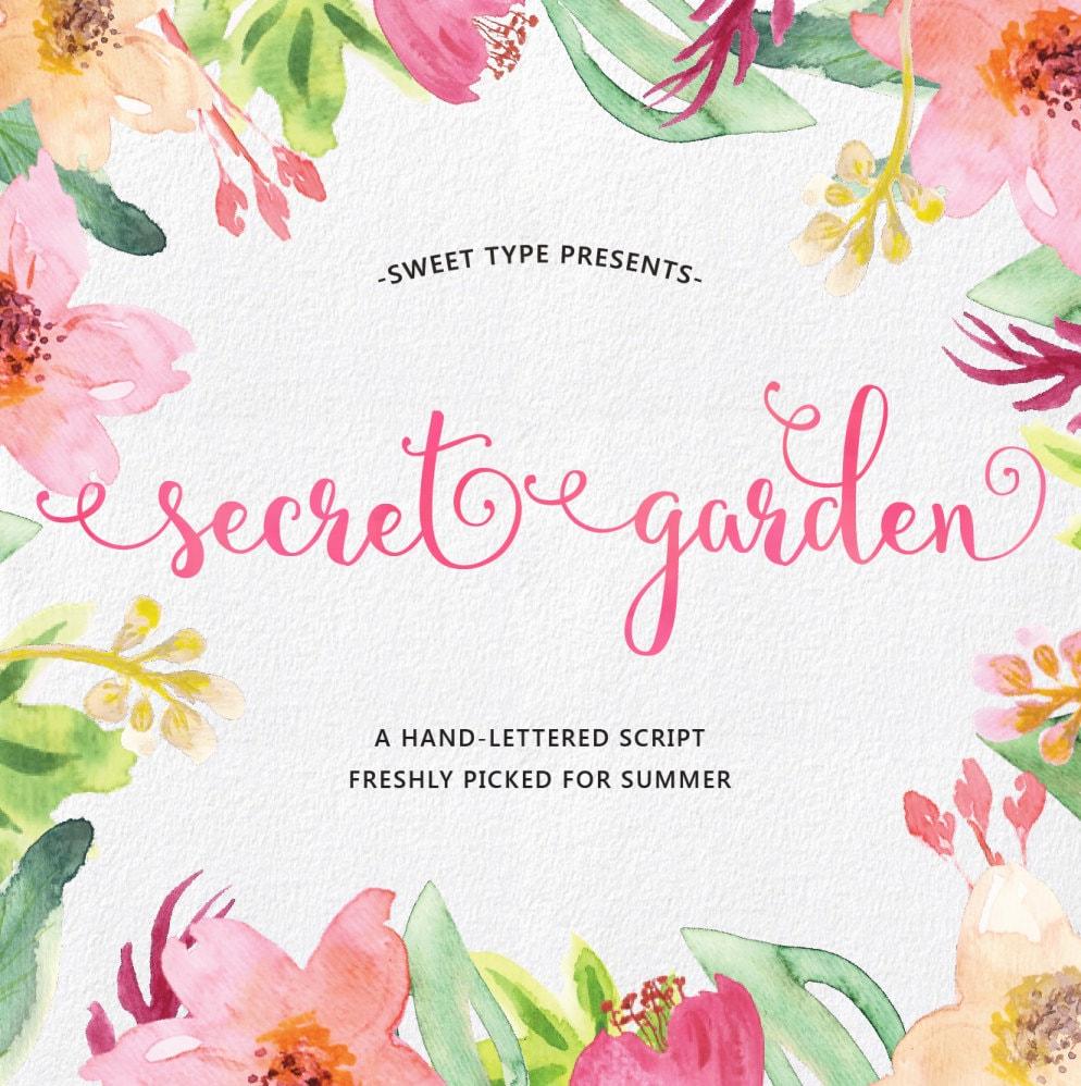 secret garden hand