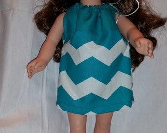 "18"" doll pillowcase dress"