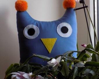 Stuffed Owl Pattern and Tutorial / Owl Sewing Pattern PDF/ Stuffed Animanl Pattern