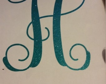 One letter monogram 3 inches