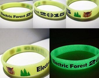 Electric Forest 2015 Glow-In-The-Dark Bracelet