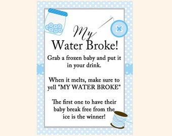 My Water Broke, Frozen Baby Game, Melt Baby, Ice Cube Baby Game,