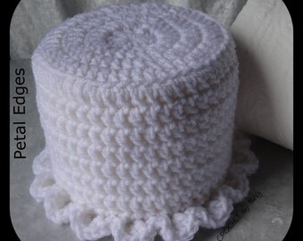 Custom Bath Tissue Cover, Crochet Toilet Paper Cover, Any Color, Decorative, Housewarming Gift, Hostess Gift, Gifts for Her, Teachers Gifts