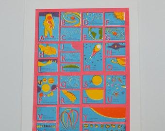 Space Screen Print