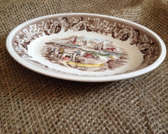 Vintage Neighbours soap dish