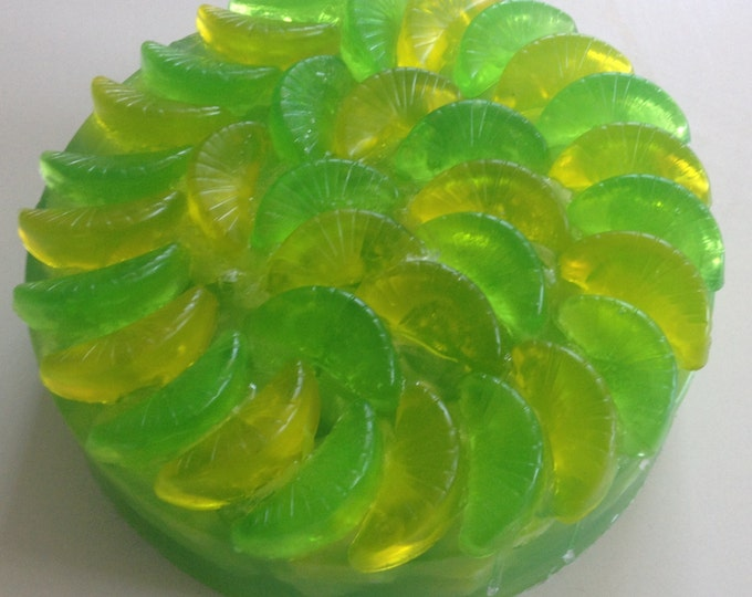 Summer Selections, Artfully-designed Fruity Scented Soap Cakes, Glycerin Soap, Handmade Gift Soap, Specialty Soap, Elegant Housewarming Gift