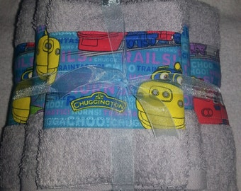 Chuggingtons Bath Set