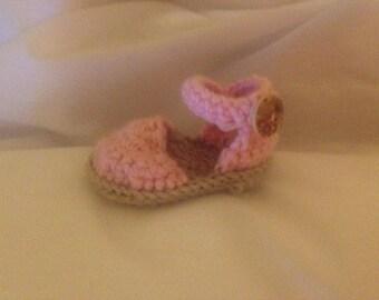 Newborn Crochet Sandels