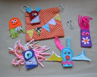 Finger Puppets \ Dedoches