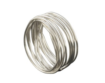 Wire Ring Silver