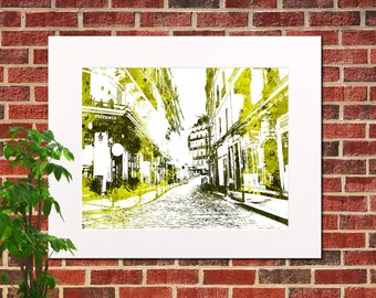 Paris City Abstract City Art Paris Home Decor Paris Street Scene Poster Paris City Poster France