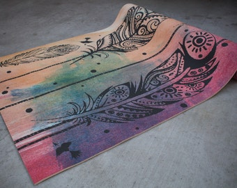Dream Weaver printed Yoga mat