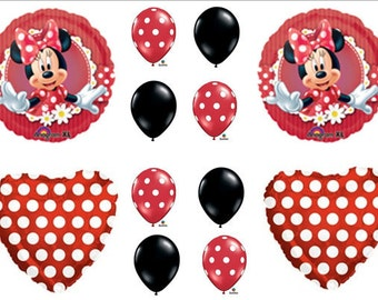 Minnie Mouse Birthday Balloons Party Decorations Supplies
