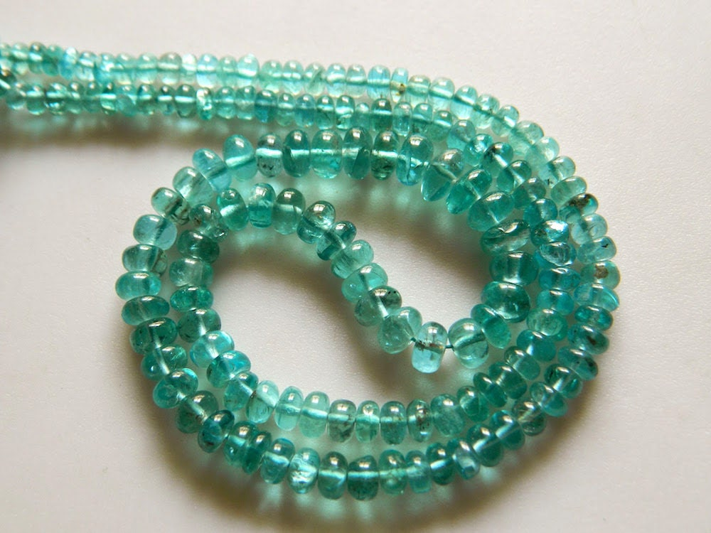 apatite rondelle beads blue apatite beads green apatite 4mm to 7mm beads 18 inch strand from. Black Bedroom Furniture Sets. Home Design Ideas