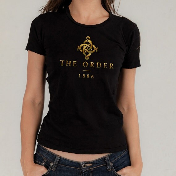 The order 1886 gold vinyl t shirt by vinyldestination666 for The order 1886 shirt