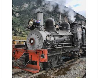 Narrow Gauge, Train Locomotive, Denver and Rio Grande, Georgetown, Silver Plume, Colorado, Historical Past, Mining, Tourist Destination